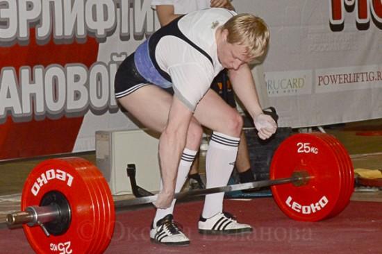 Чемпионат России 2012 по пауэрлифтингу